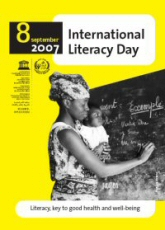 Poster Unesco Literacy Day 2007
