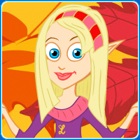 Autumn the Fall Fairy DRESS UP GAME